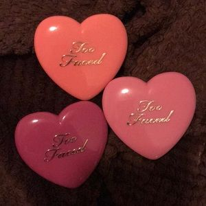 LIKE NEW- Lot of 3 Too faced blushes